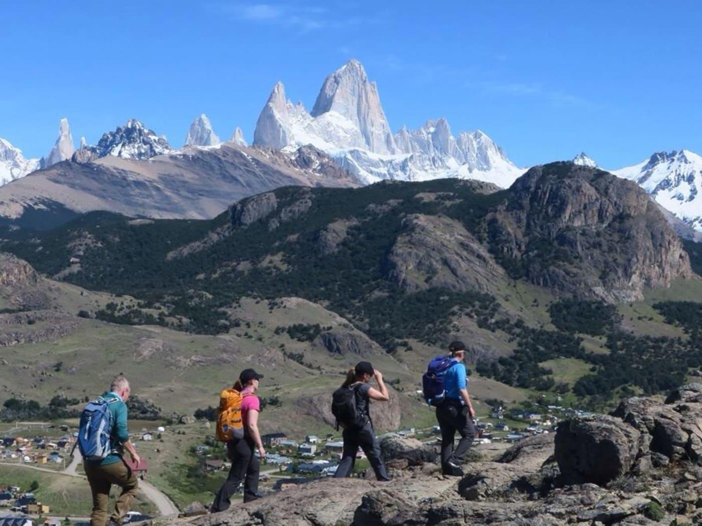 Spectacular trekking around the Cerro Torre and Fitzroy ranges