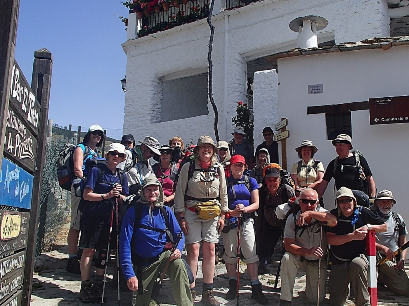 Hiking in the beautiful Alpujarras