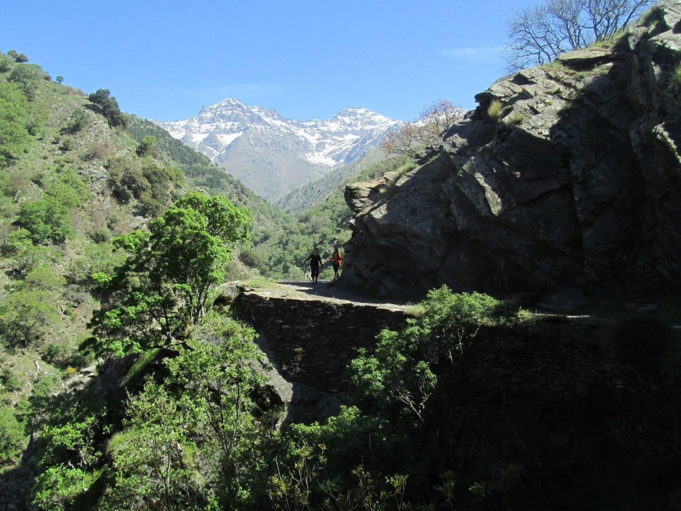 Walking the Vereda de Estrella path