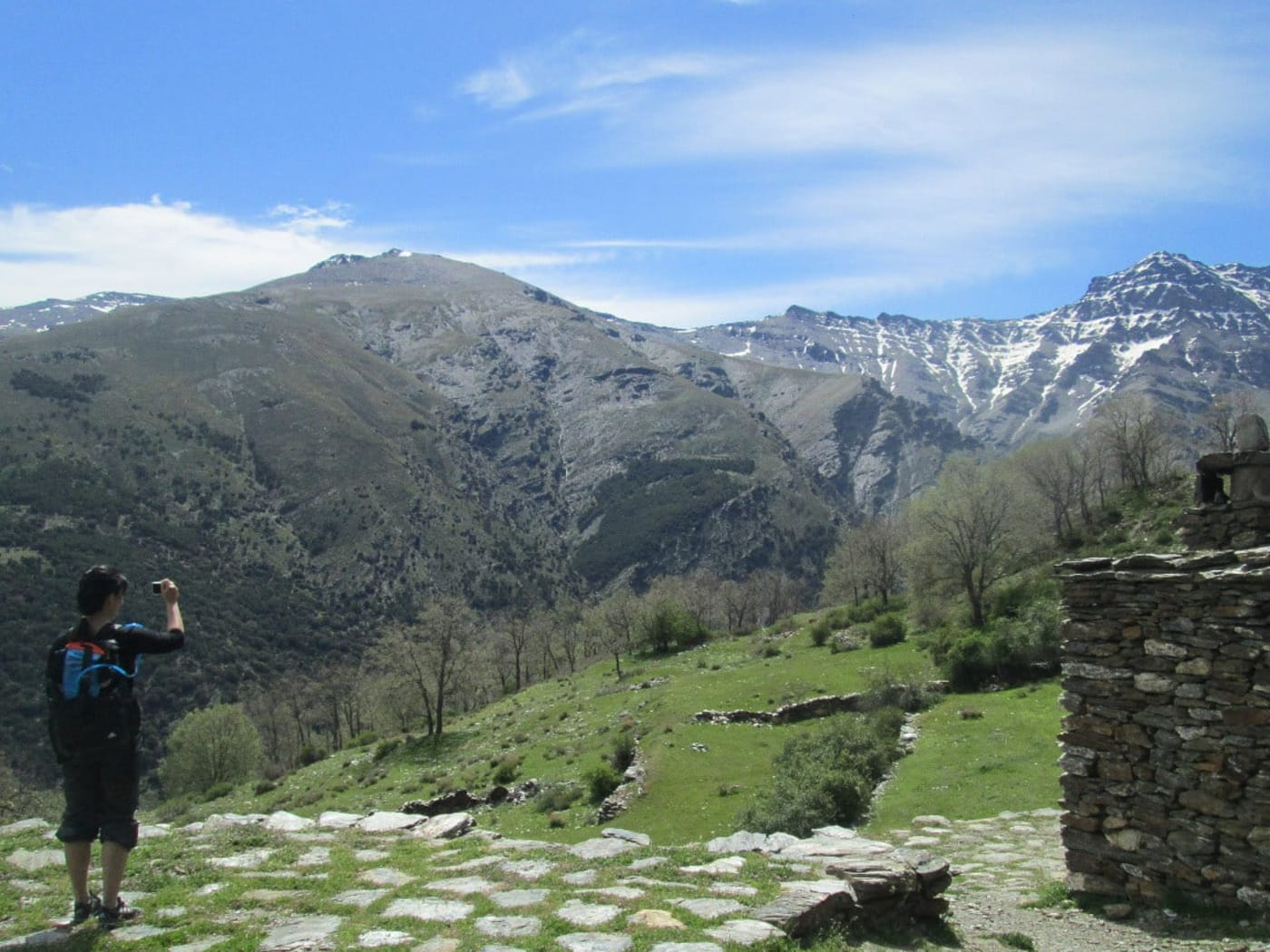 Views from the Vereda de Estrella at Cortijos Hornillos