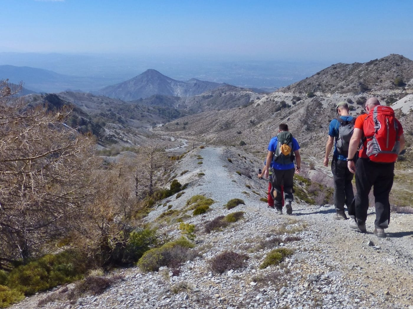 Really varied walking in the Cumbres Verdes