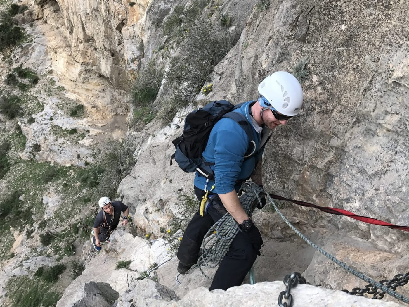 There are many Via Ferrata Options in Andalucia