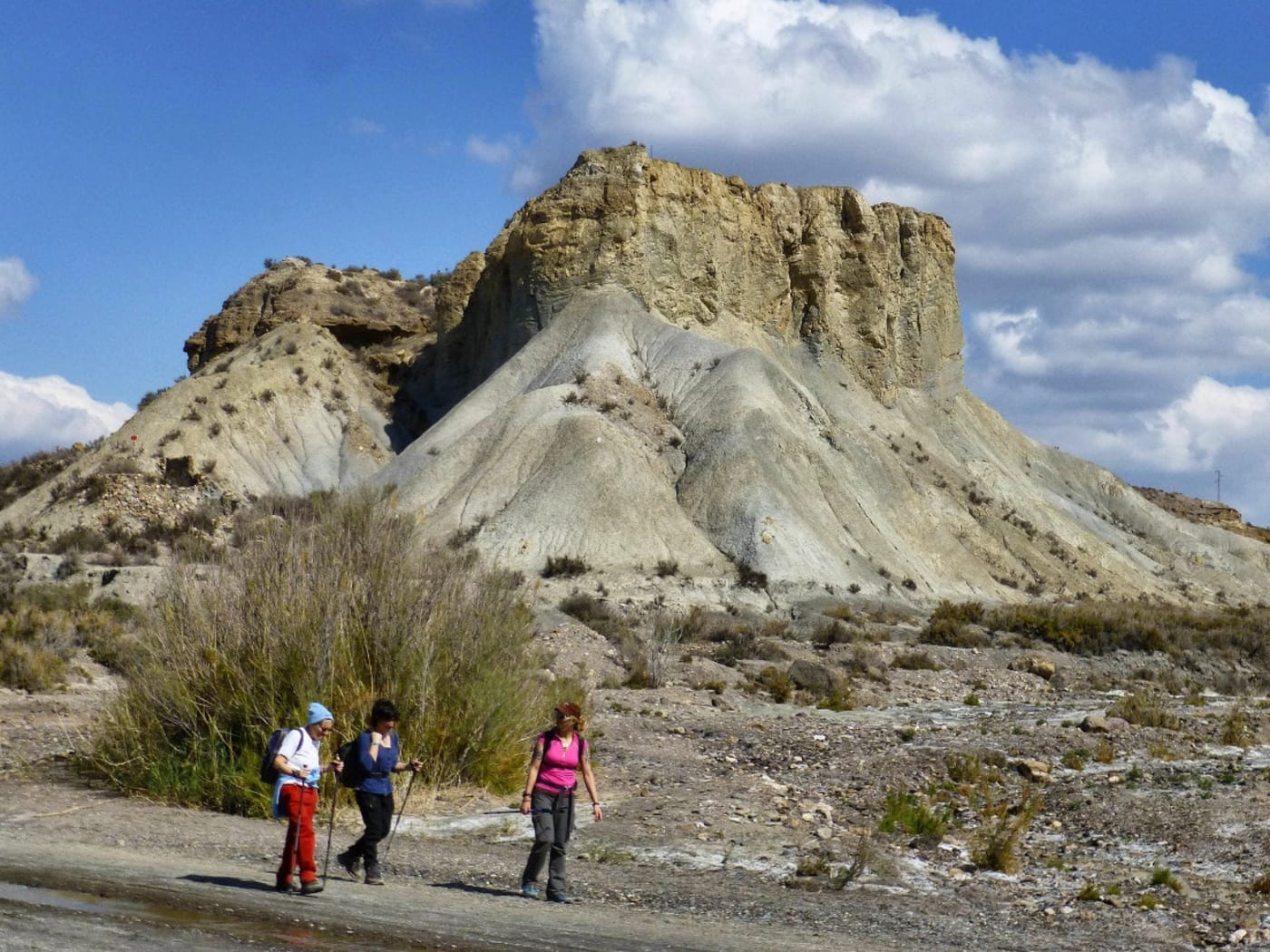 Walking the Desert Badlands of Almeria