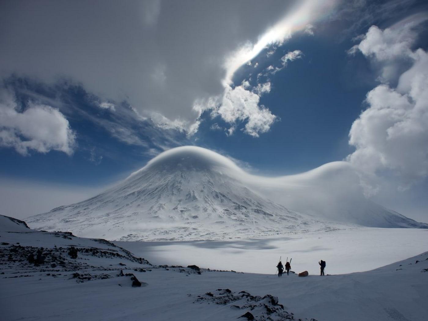 Ski Kamchatka Klyutchevskoy Sopka Expedition 2013
