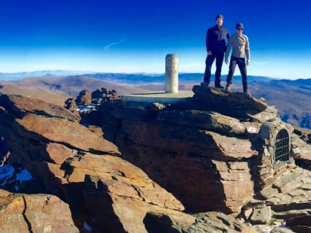 Amazing high level trekking, Sierra Nevada