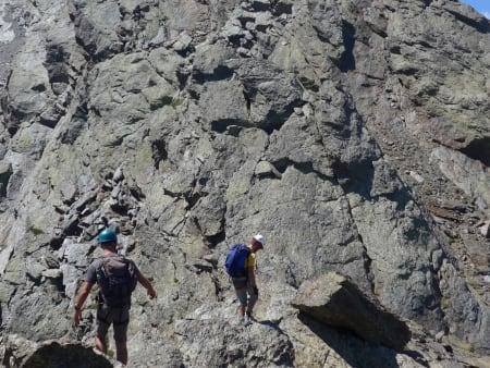 North ridge Tozal del Cartujo