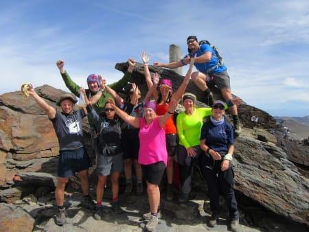 Made it! On Mulhacen summit