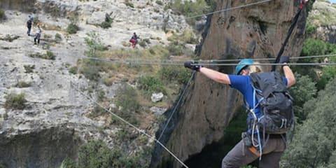 Himalayan Cable Bridge Lecrin Valley