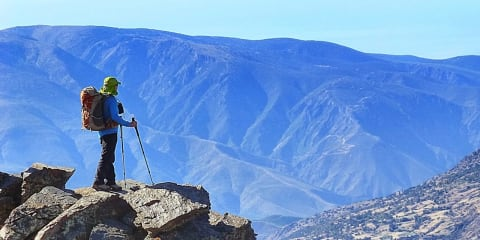 Hiking in the beautiful Alpujarras, Andalucia