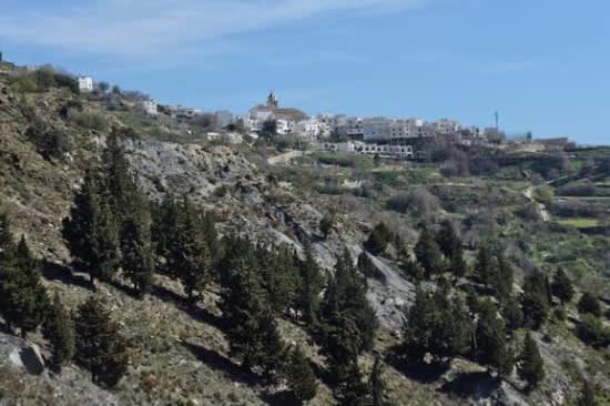 Walking along the GR7 Alpujarras