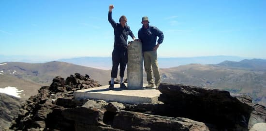 Trekking the 3000m peaks of the Spain's Sierra Nevada