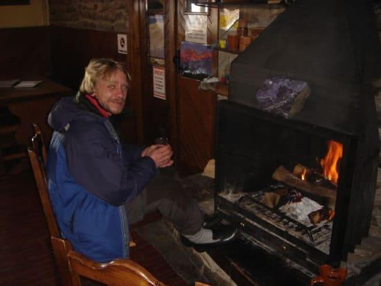 In the Refugio Poqueira