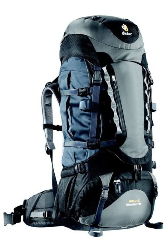 Review of Deuter Aircontact Pro expedition rucksack