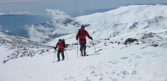 Eagle Ski Club ski mountaineering trip to the Sierra Nevada