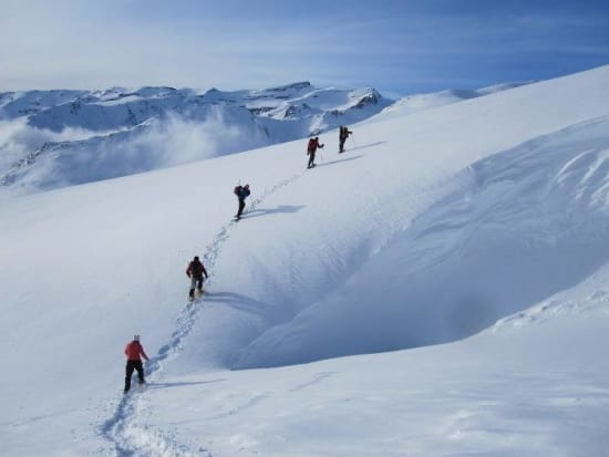 8 Backcountry ski descents from Mulhacen, Sierra Nevada
