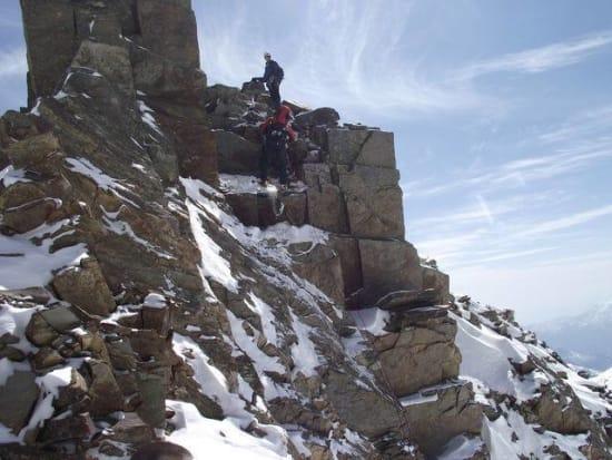 On the main ridge