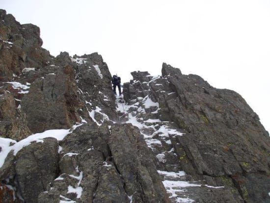 One of the abseils
