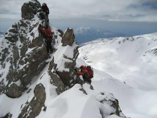 The Geezers on the ridge crest