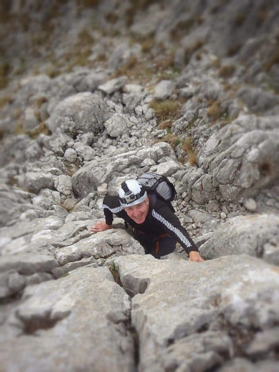 Ian Tupman gets to grips with the rock!