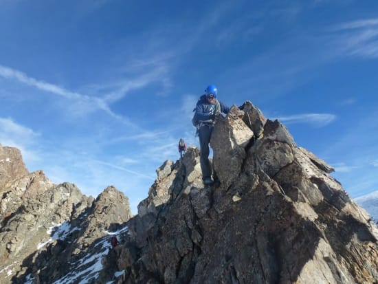 The lower ridge