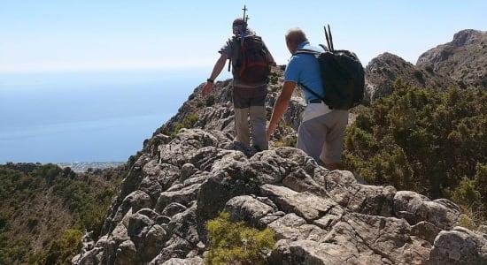 A walk up the peak of La Concha in the Sierra Blanca