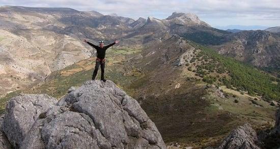 New scrambling in the Sierra de Huetor N of Granada