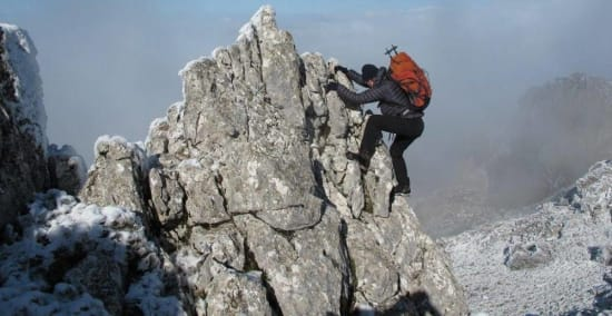 A few days rock scrambling in Andalucia
