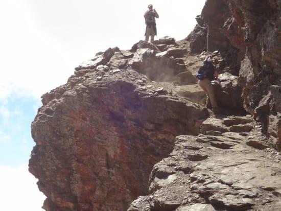 The Paso de los Guias, Sierra Nevada
