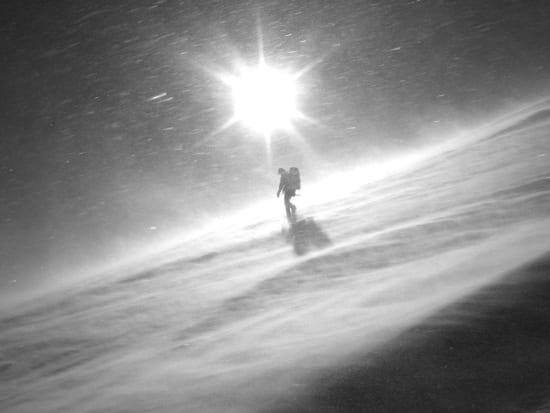 Still enjoying climbing Mulhacén in a whiteout!