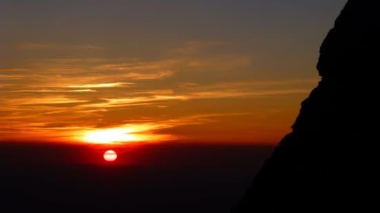Sunrise from Mulhacen