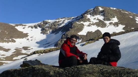 Escape the rat race by high level trekking, Sierra Nevada