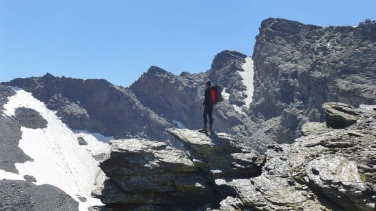 Trek along the northern flanks of the Sierra Nevada