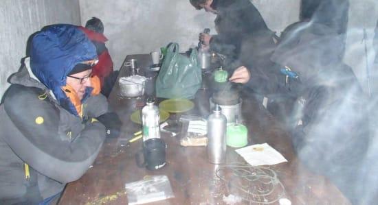 Life in the deep freeze, Sierra Nevada in November