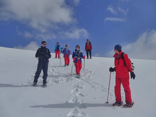 Sierra Nevada Snowshoeing Tours - new routes for winter