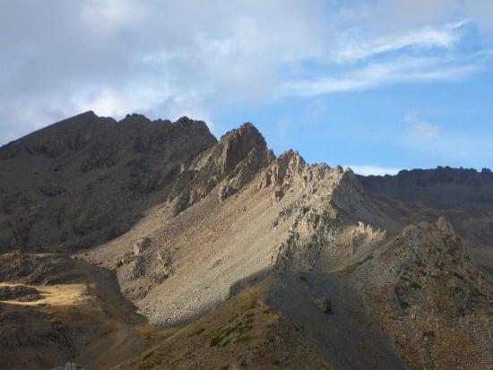 Looking north to the Raspones and the main Sierra Nevada ridge