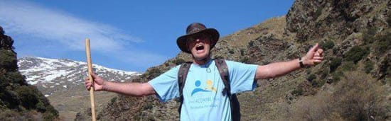 Chris Stewart Charity walk, Spain's Sierra Nevada ridges