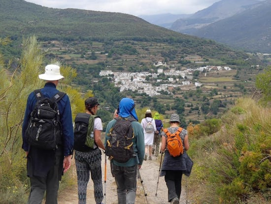 Chris Stewart 'Walking over Lemons, Alpujarra Hiking Weeks
