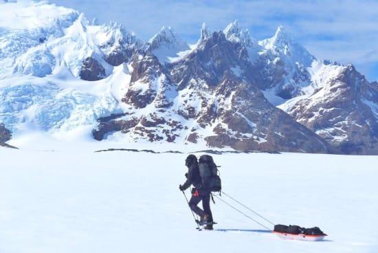 Crossing south towards the Viedma Glaciar