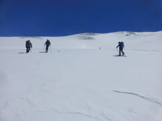 Ski Touring on the Cerro de Caballo, Sierra Nevada