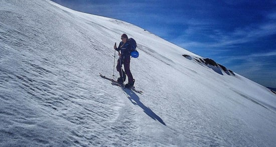 No dramas just a day ski touring in the Sierra Nevada