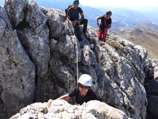 Scrambling & soaring with eagles Sierra de Huetor, Granada