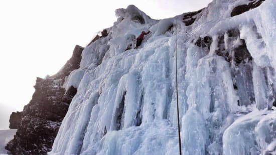 The main icefall