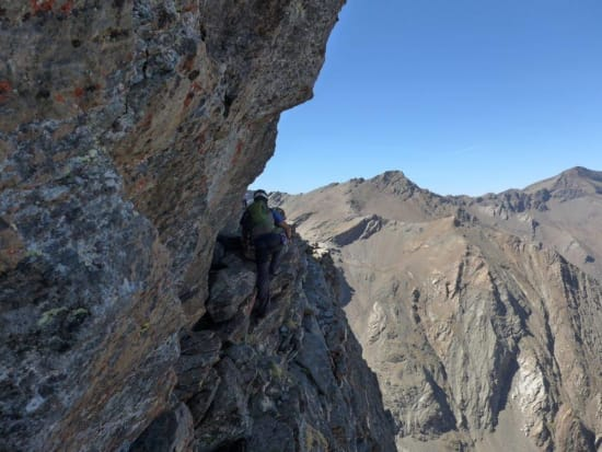 The Traverse of the Gods - sierra-nevada style