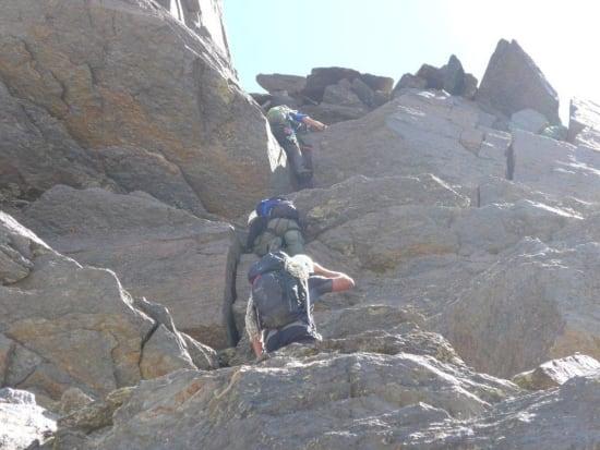 Ascent of the Espolón de Alcazaba, Sierra Nevada