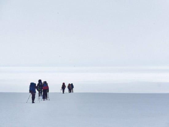 Entering the Icecap