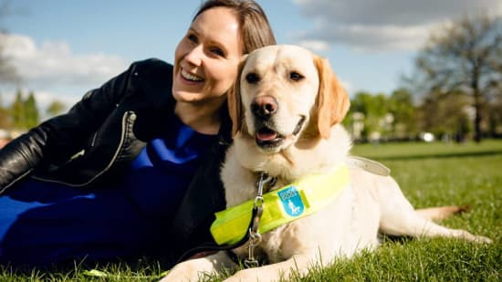 The Charity - Guide Dogs