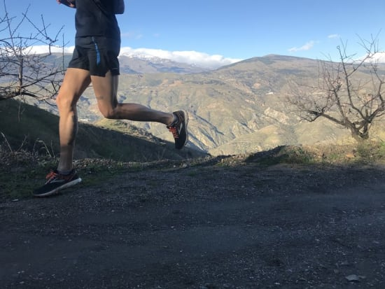 Guided trail running trips itineraries in Andalucia