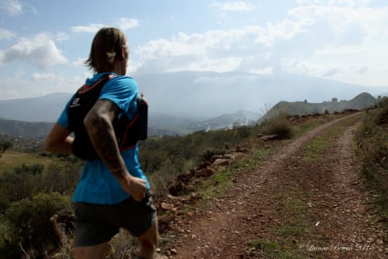 Lots of easily accessible trails close to Granada