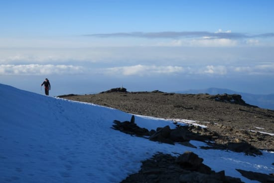 South summit of Mulhacén
