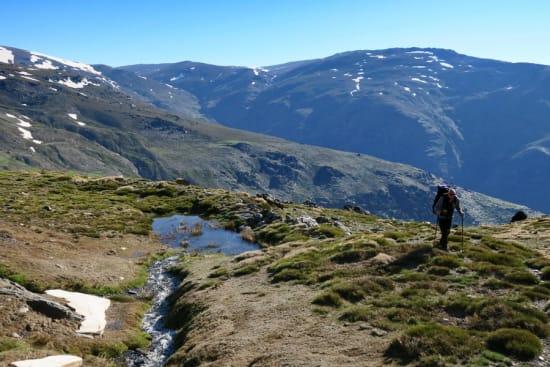 Start of climb up Tajos de Peñón Negro